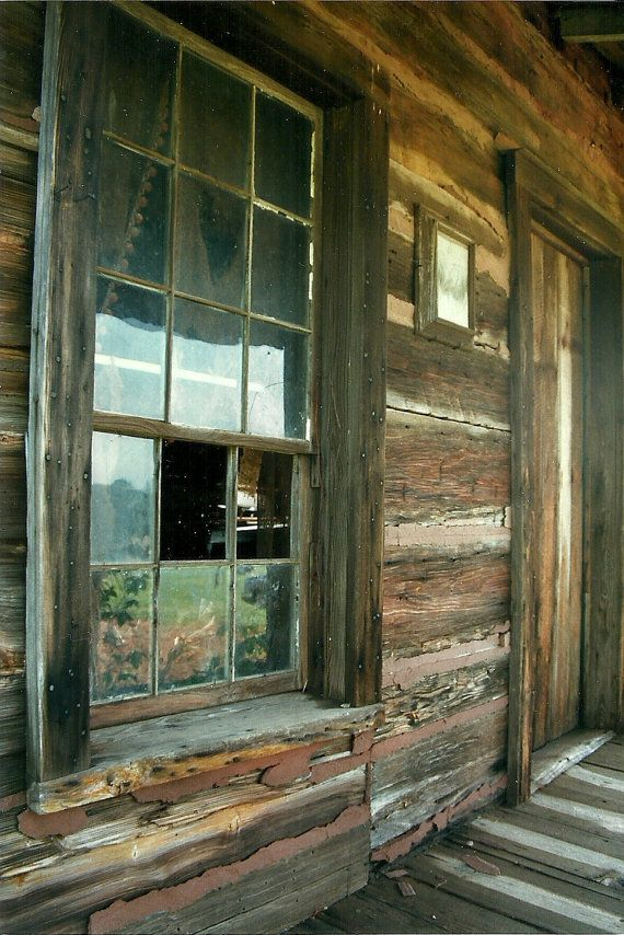 Deserted Georgia Mountain Log Cabin