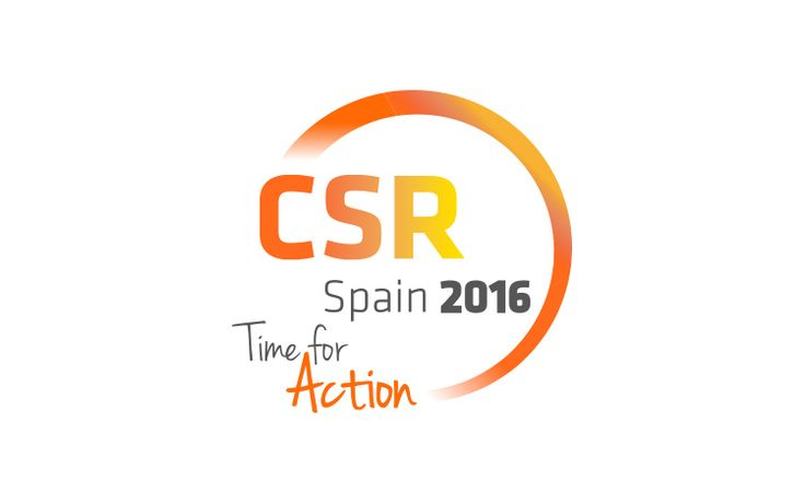Diseño del logotipo del evento CSR Spain 2016