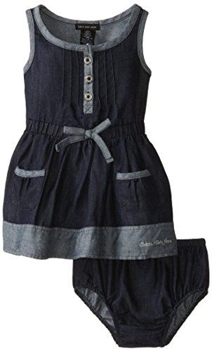 Calvin Klein Baby-Girls Infant Denim Dress with Pockets On Skirt, Blue, 12 Months Calvin Klein http://smile.amazon.com/dp/B00NVETH6A/ref=cm_sw_r_pi_dp_ZtMmvb17WPHGG