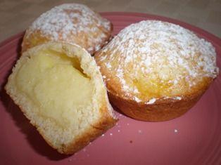 Italian Pasta Ciotti (custard filled pastry)