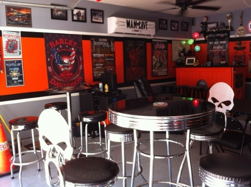 Motorcycle Man Cave Decor: Motorcycle / Biker Man Cave Decor