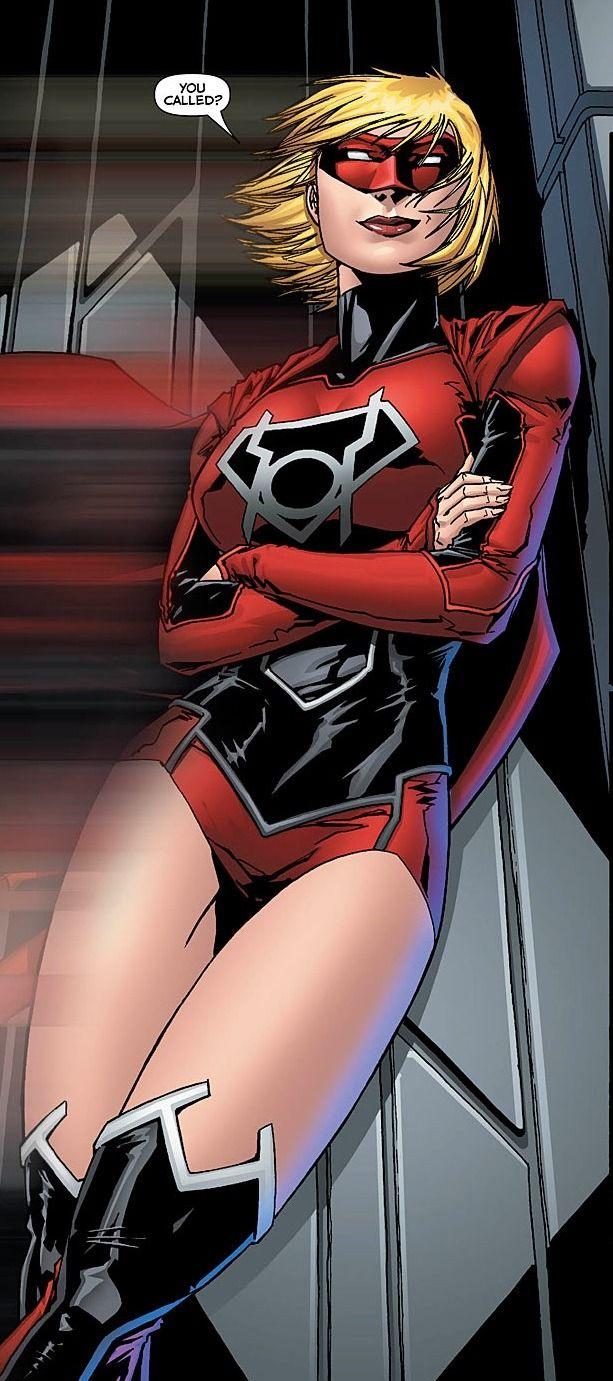 "comic-book-ladies: "" Red Lantern Supergirl by Jim Calafiore, Alesandro Vitti & Gabe Eltaeb """