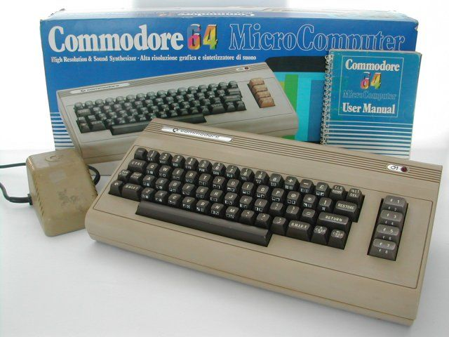 commodore 64. I loved my baseball game on it.