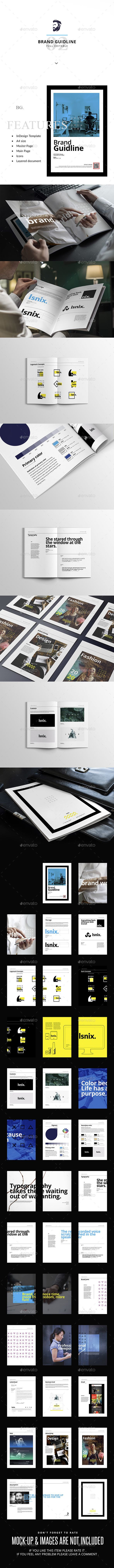 A4 Brand Guidlines — Photoshop PSD #clean #style guide • Download ➝ https://graphicriver.net/item/a4-brand-guidlines/19376236?ref=pxcr