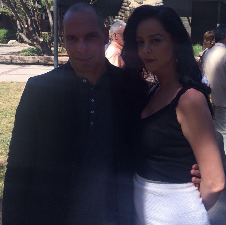 Yani Varoufakis in LA ,the former minister of finance