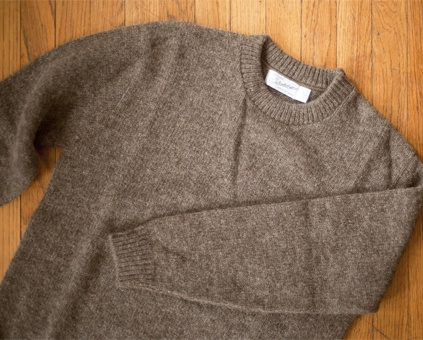 Bartlett Yarns Crewneck Wool Sweaters