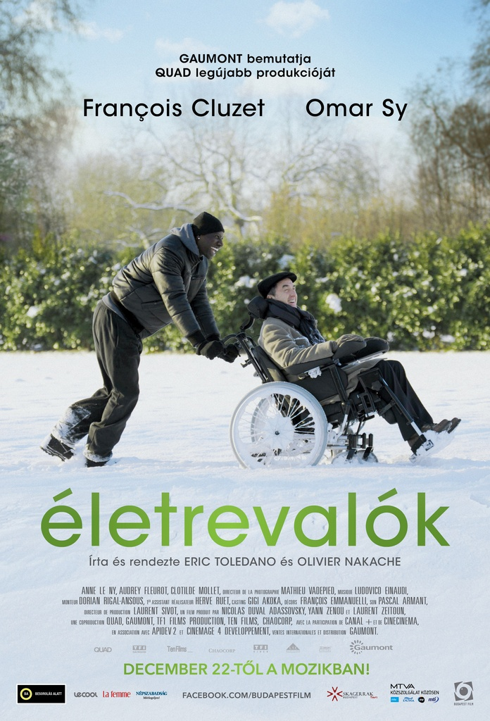The Intouchables (2011) Olivier Nakache, Eric Toledano-- (Language:French)