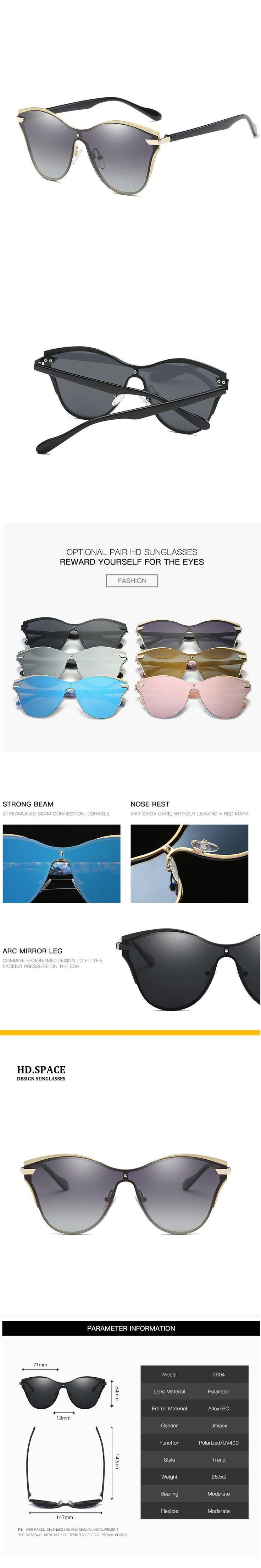 HD.space women Polarized Sunglasses lunette de soleil femme sun glasses for women Diamond womens sunglasses brand designer UV400