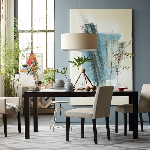 Exceptional Parsons Expandable Dining Table | West Elm
