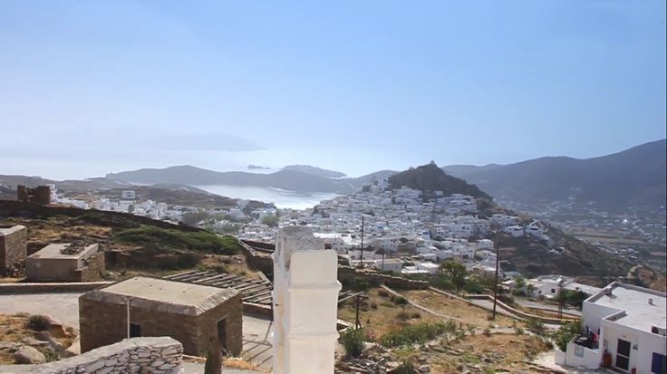 View of the Chora (the main village) of Ios! Chora of Ios is just a few kilometers from Island House Hotel & Mare! Visit www.islandhouse.gr