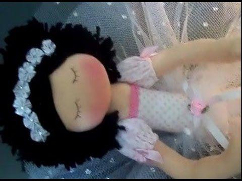 Bailarina de pano / magrela (Diy)