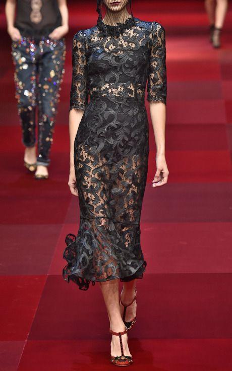 Dolce & Gabbana Spring/Summer 2015 Trunkshow Look 16 on Moda Operandi