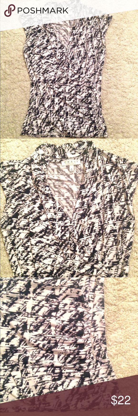 Faux Wrap Blouse Pattern 77