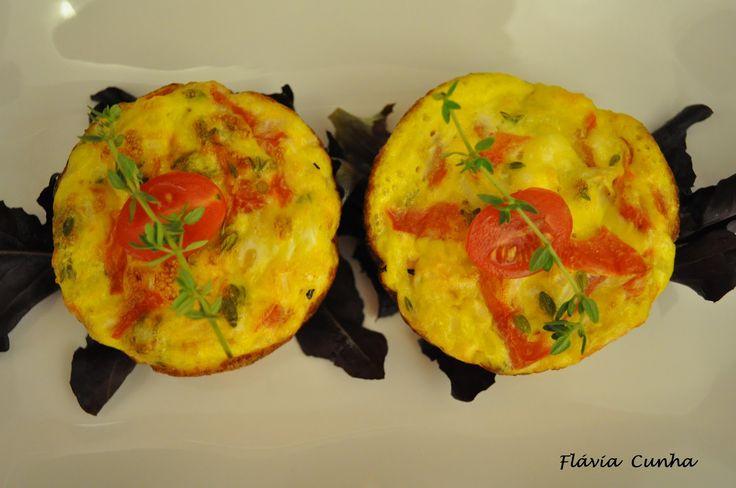 Vamos dividir para somar!: CupCake de Omelete