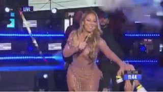 Video: Momen Memalukan Mariah Carey Saat Tampil Lyp sync Tapi Gagal Total dan Ditertawakan Penonton