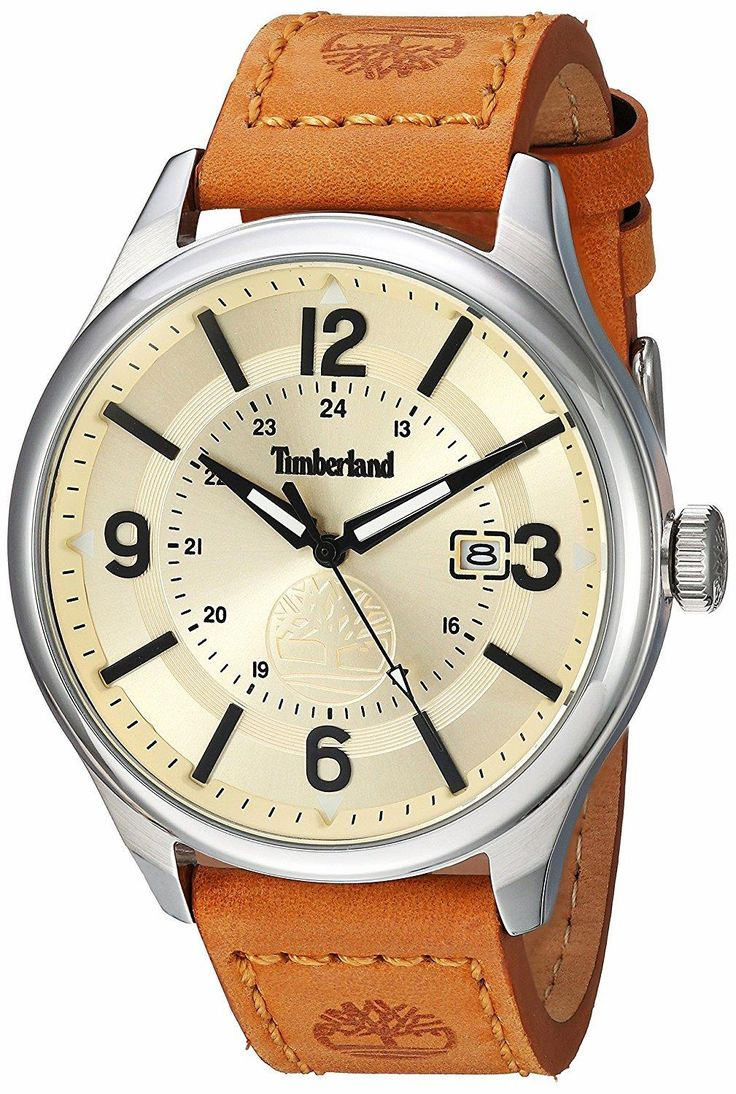 Welcome To the Modern Trail: TIMBERLAND Blake Analog Display Analog Quartz Brown Watch. Timberland is an American brand that offers rugged and refined styles to explore every day adventures from the outdoors to the city, and the journey in between.  #TIMBERLAND   #KhaValeri  https://ro.pinterest.com/KhaValeri/    kha_amz_TIMblake0107_v28