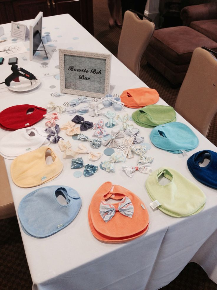 Totally doing this at our boys baby shower. It's so perfect since we made headbands at Zella's baby shower.