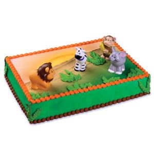 Jungle Safari Cake Topper Kit Party Supplies Canada ...