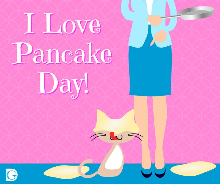 I love pancake day cat post from Be Your Own Graphic Designer. https://beyourowngraphicdesigner.com/february-social-media-planner/