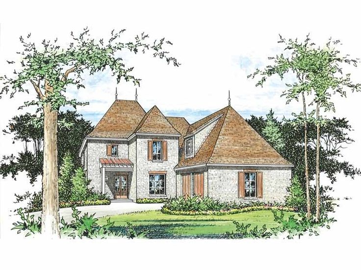 eplans french country house plan four bedroom french country 3289 square feet and 4