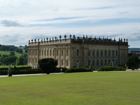 Chatsworth House from the south-east