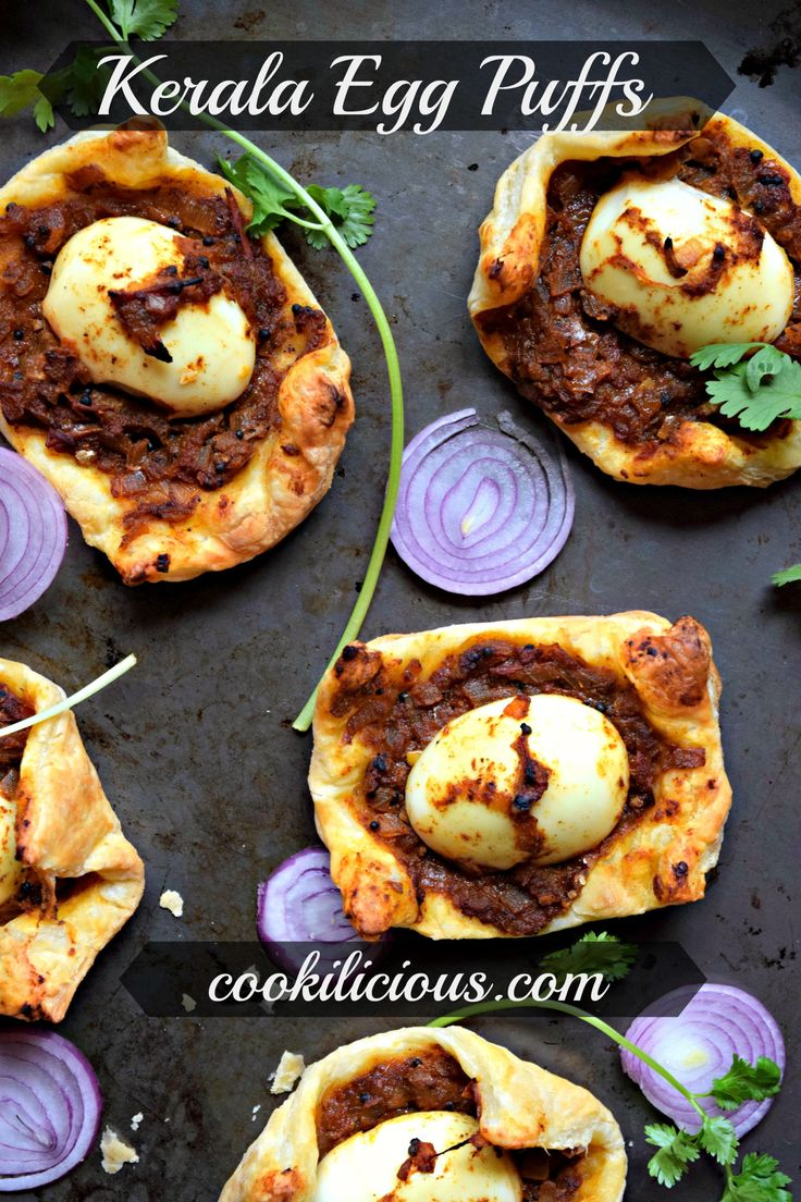 Kerala Egg Puffs%