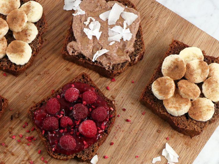 Saftigt banana bread med honung | Recept från Köket.se