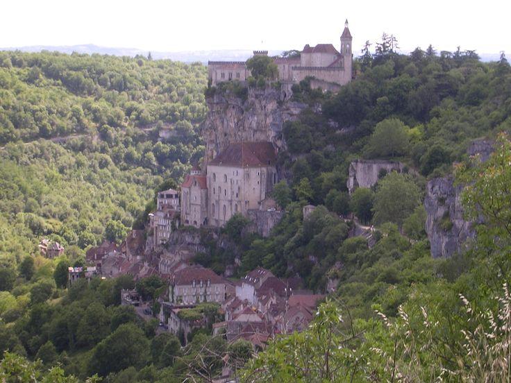Rocamadour departement du Lot