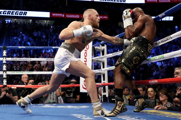 Mayweather vs. McGregor at the Box Office. Saturday night's fight between champ Floyd Mayweather Jr. and Conor McGregor earned $2.6 million from 532 locations in North America locations to come in No. 8