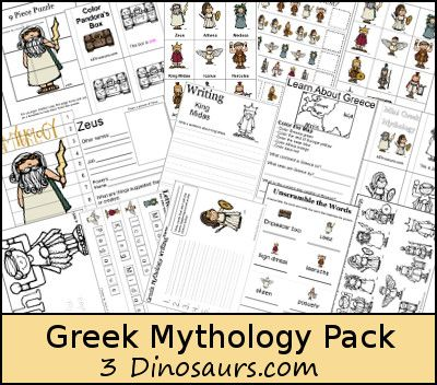 Exploring Greek Mythology – Poppin Book Nook - with Free Greek Mythology Pack for ages 2 to 9 - 3Dinosaurs.com
