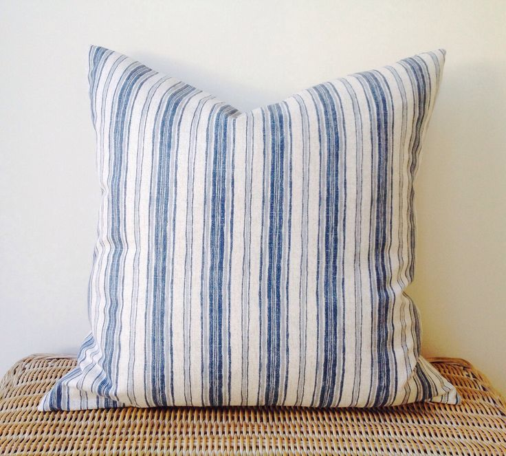 A personal favourite from my Etsy shop https://www.etsy.com/au/listing/590818873/calvin-blue-chambray-natural-stripe