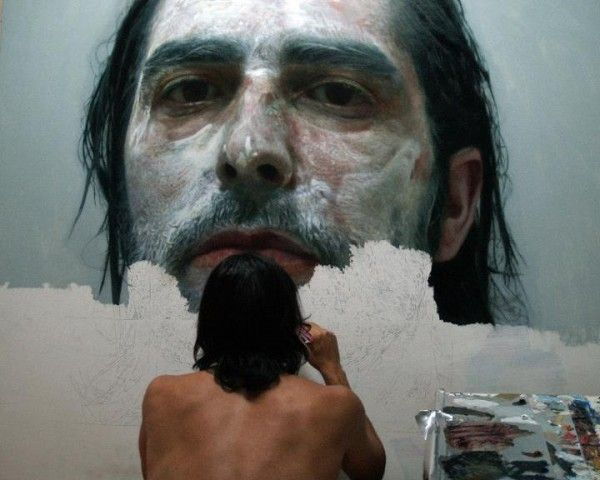 Hyperrealistic selfportraits by Eloy Morales