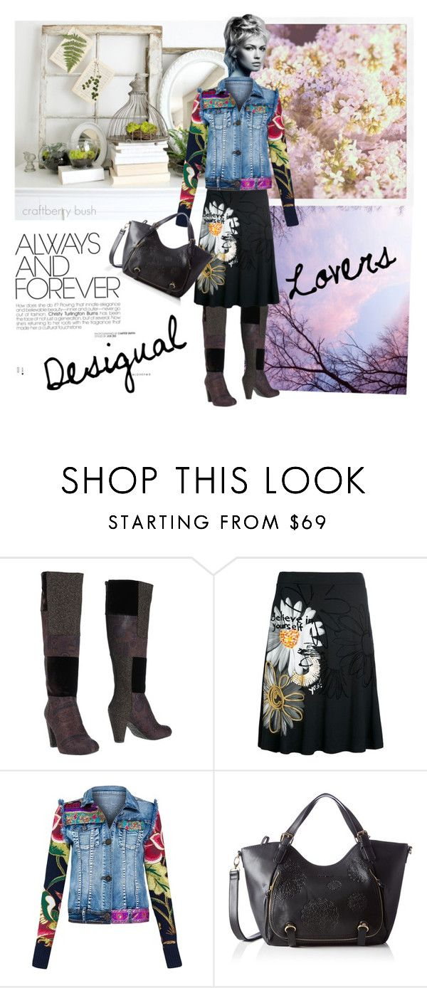"""""""Desigual lovers"""" by trendcrossing ❤ liked on Polyvore featuring Desigual"""