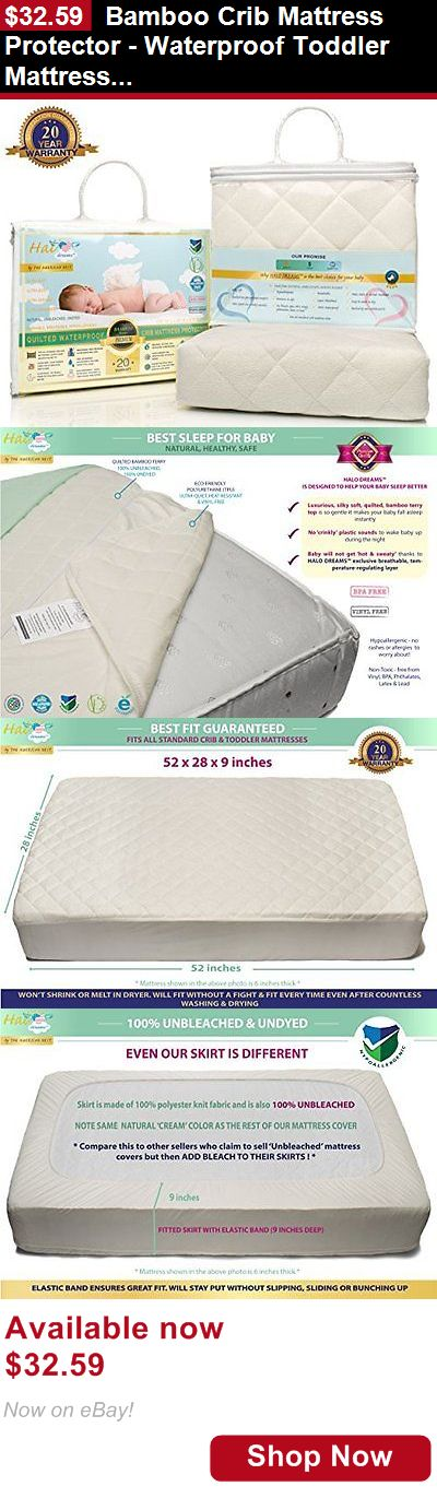 Mattress Pads And Covers Bamboo Crib Protector Waterproof Toddler Pad It Now Only 32 59 Bedding Pinterest