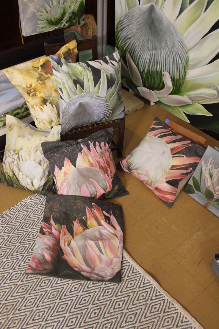 Scatter cushions www.christellepretoriusart.co.za