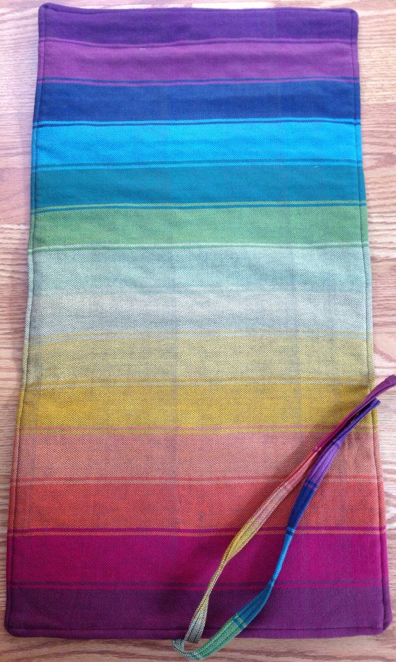 Wrap Scrap Changing Pad made from Upcycled by littlebugfelt, $37.00