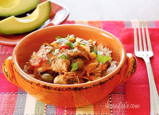 good meal...Weight Watchers, La Criolla, Eating Right, Weights Watchers Recipe, Crock Pots Chicken, Savory Recipe, Healthy Recipe, Weights Loss, Weight Watcher Recipes