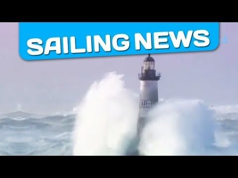 Storm in Brittany - Hurricane winds - Heavy Weather on the French and the British coast - YouTube