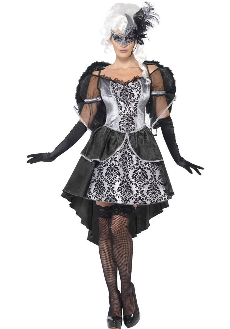 dark angel masquerade costume halloween costumes at escapade - Masquerade Costumes Halloween