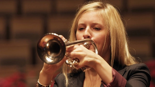 James MacMillan: Seraph. At Christ Church in Cockermouth, Cumbria, the Scottish Ensemble are joined south of the border by English trumpeter Alison Balsom. 3 March 2012.