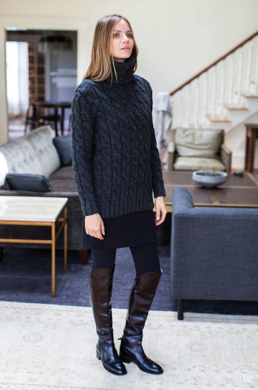 44 best Black sweaters images on Pinterest   Autumn, Baggy dresses ...