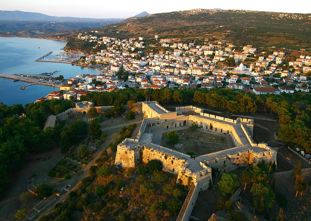 Built in 1753, the Ottoman fortress in Pylos, Greece is kown as Niokastro