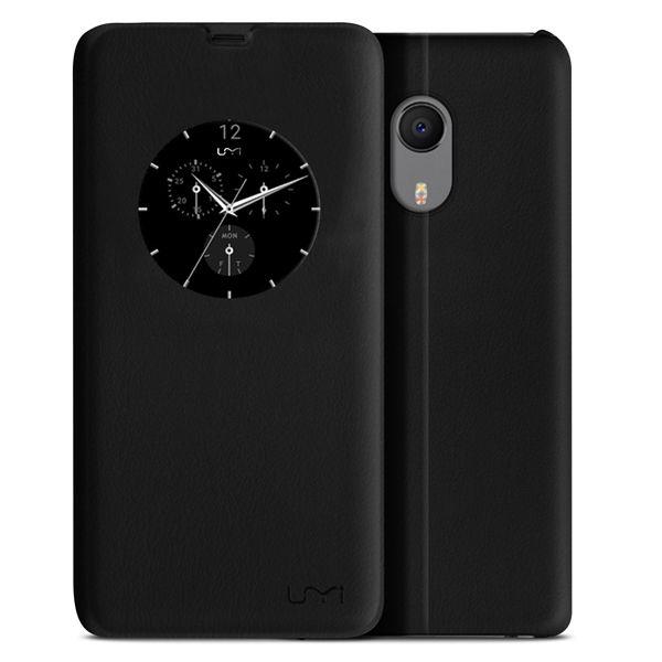 Original Black Smart View Window Flip Cover PU Leather Case For UMI Plus UMI Plus E