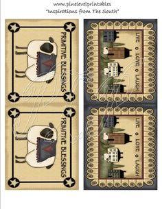 primitive labels to print free | primitive printables