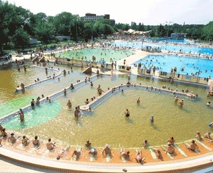 thermal water in Hungarospa Hajduszoboszlo