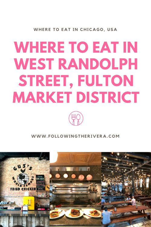 Where to eat in West Randolph Street, Fulton Market District. With some of the best restaurants in #Chicago the only problem will be deciding which place to choose! #Unitedstates #traveltips