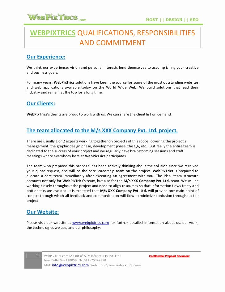 Website Proposal Template Doc Luxury Web Design Proposal Sample In 2020 Web Design Proposal Proposal Templates Website Proposal