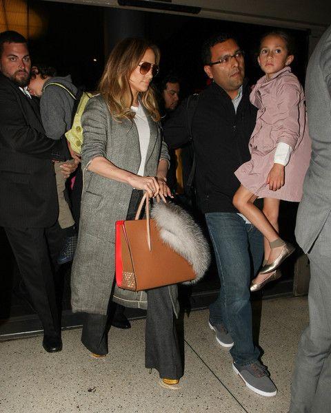 Jennifer Lopez Photos - Jennifer Lopez Arrives at LAX Airport - Zimbio