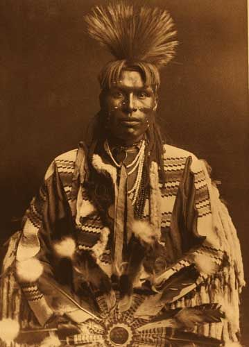-: History, Edward Curtis, Native Americans, Native American Indian, Piegan Dandy, 1900, People, Photo, First National