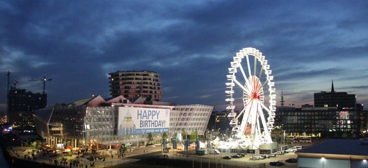 Steiger Riesenrad in der Hamburger HafenCity (Foto: Diana Henschel)